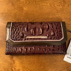 Brahmin Soft Checkbook Wallet.